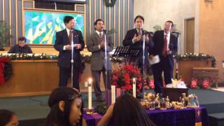 We are one in the bond of Love @ One in Christ Church of Nationalcity (12/21/13)