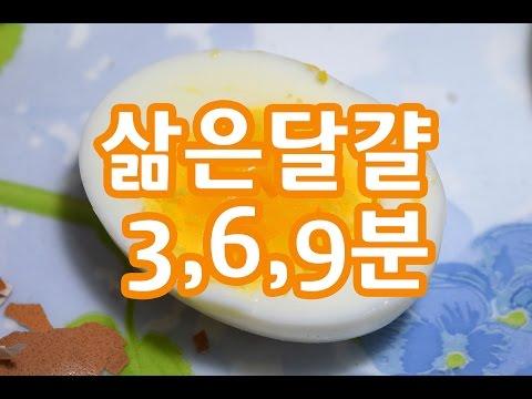 삶은 달걀이 가장 맛있는 시간? 물끓기 시작�