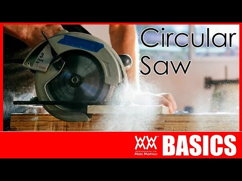 How to Use a Circular Saw. Everything you need to know. | Woodworking Basics