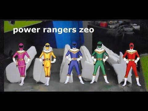 homemade power rangers zeo crystals my own version