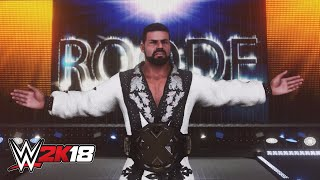 "Bobby Roode reflects on his ""Glorious"" WWE 2K18 debut: Exclusive, Oct. 13, 2017"