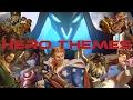 Overwatch Hero Themes