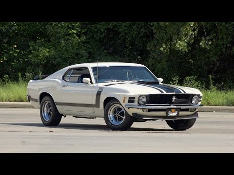 1970 Ford Mustang Boss 302 FOR SALE / 136556
