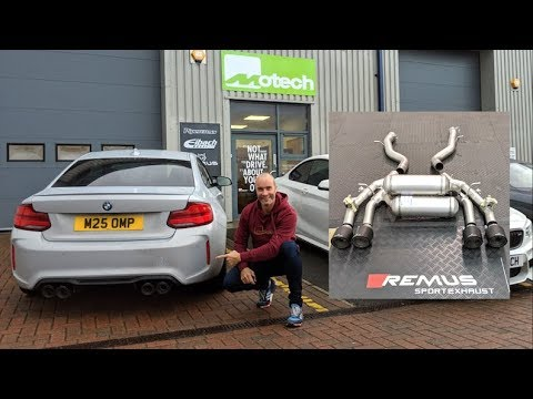 remus exhaust bmw m2 competition amazing sound new