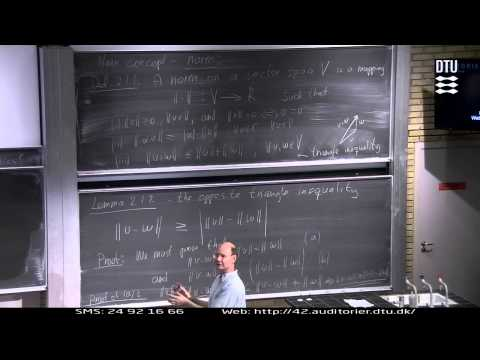 Normed Vector Spaces Part 1