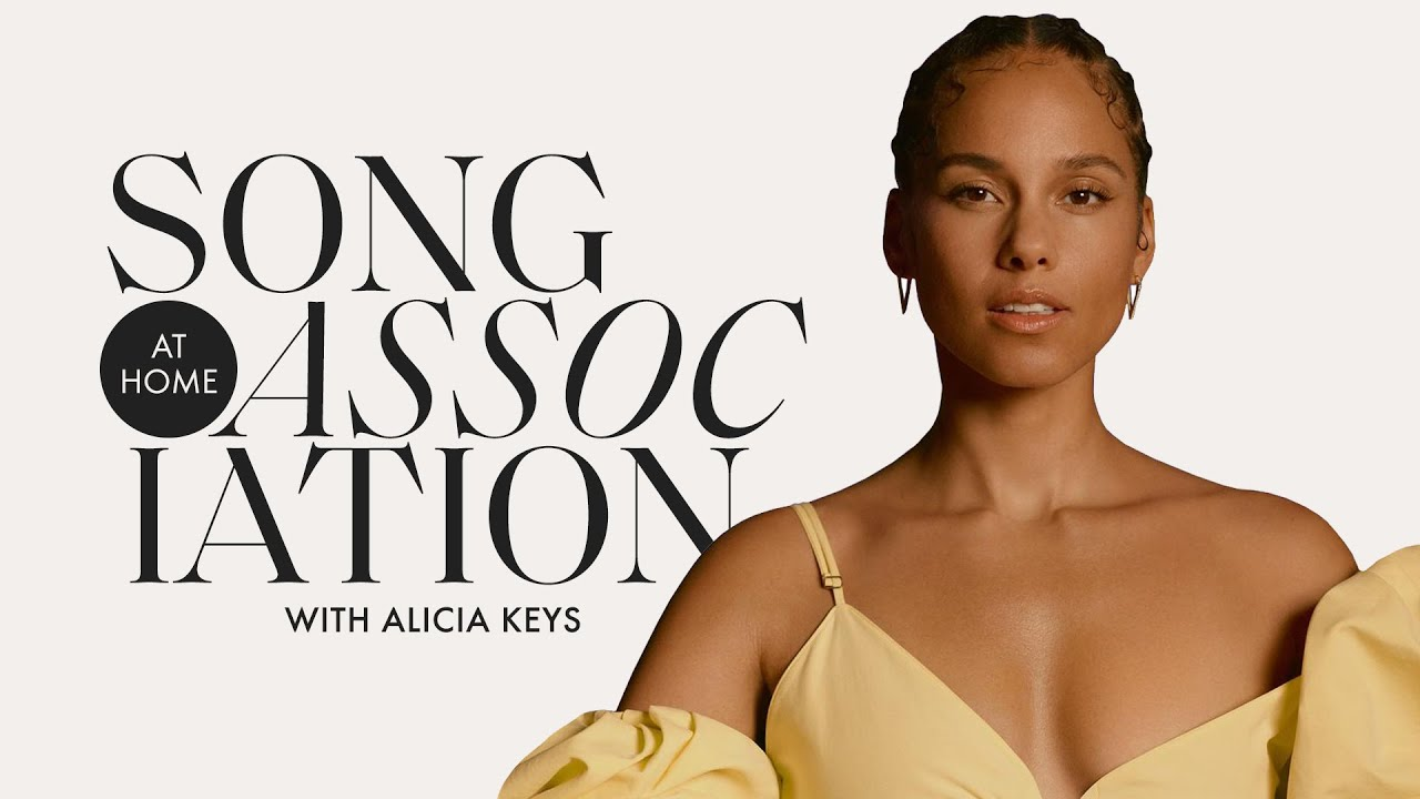 Alicia Keys Sings Whitney Houston, Prince, and Aretha Franklin in a Game of Song Association
