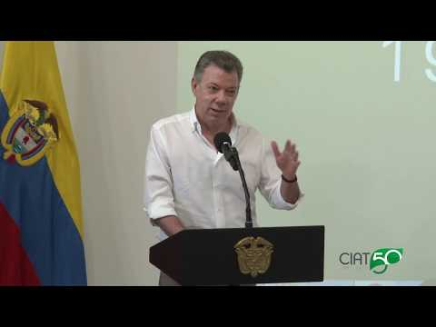 President Juan Manuel Santos joins CIAT50 Celebrations