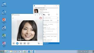 Training- Presence, IM, and Contacts in Lync 2013- Use presence to manage your time- Video 2 of 4