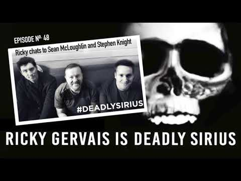 RICKY GERVAIS IS DEADLY SIRIUS #48 Mp3
