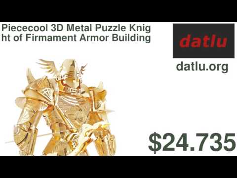 Piececool 3D Metal Puzzle Knight of Firmament Armor Building DIY Laser Cut Toys Educational Model