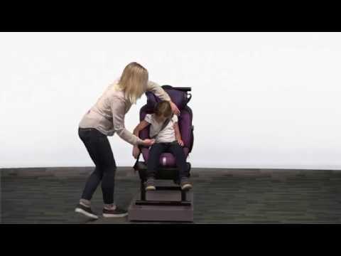 Детское автокресло Britax Roemer Evolva 1-2-3 SL SICT (группа 1-2-3, от 9 до 36 кг) [161463]. Видео №3