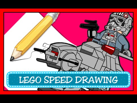 Speed Drawing Coloring Pages Disegni Da Colorare Lego Star