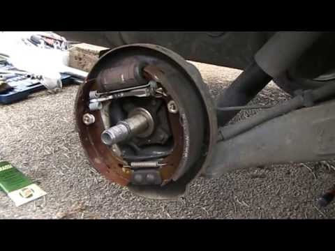 Pressed wheel bearing replacement (without a press...)