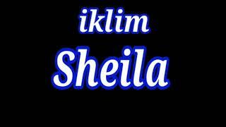 Iklim=sheila