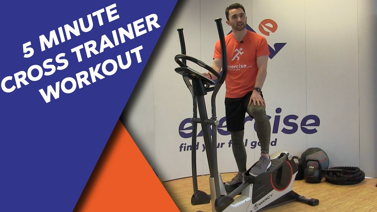 The HIIT Cross Trainer Workout You can Do in 5 Minutes! 🔥