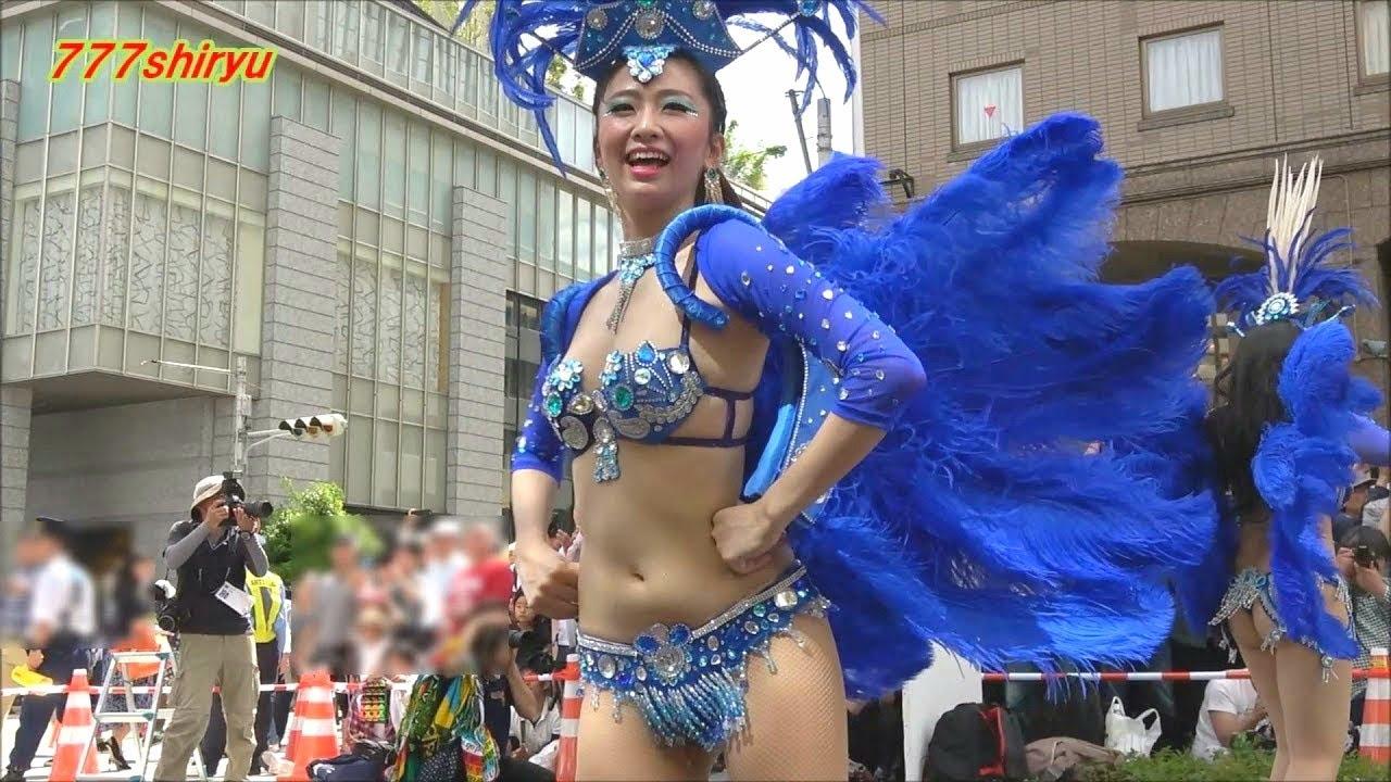 【神戸まつり2018】サンバ高画質⑤コウベッコ Escola De Samba KOBECCO Japanese Beauties Sexy Dance Kobe Festival Japan