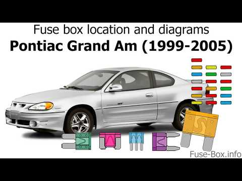 Fuse box location and diagrams: Pontiac Grand Am (1999-2005) - YouTubeYouTube