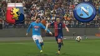 "Genoa vs Napoli 10°Giornata ""Classica Partita Devastante del...""   PES 2018 Kilay v2"