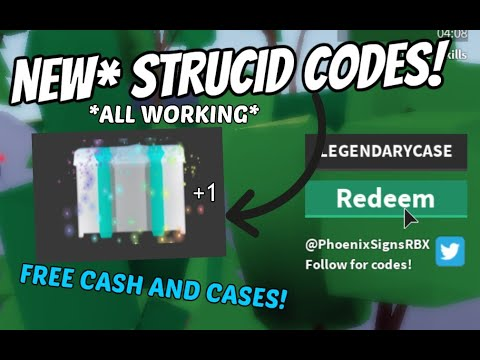 *NEW* STRUCID CODES! *ALL WORKING* [Roblox]