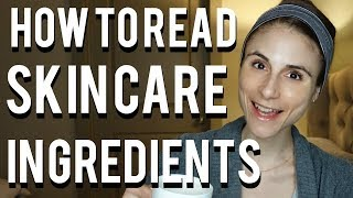 How to read skin care ingredients| Dr Dray