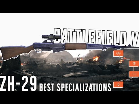 ZH-29 Best Specialization Path & Gameplay - Battlefield V