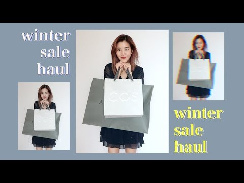 Shopping Winter Sales: Fashion Try-On Haul | COS, Allsaints, & G.Intl