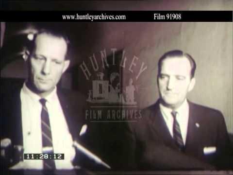 Ku Klux Klansman acquitted of murdering Viola Liuzzo.  Archive film 91908