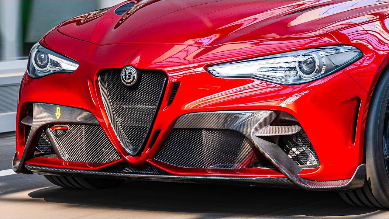 NEW Alfa Romeo Giulia GTAm (2020): EPIC Super-Sedan! - YouTube