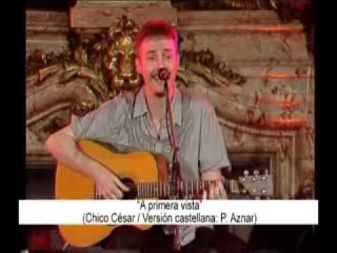 Pedro Aznar en el salón blanco de la casa rosada show completo