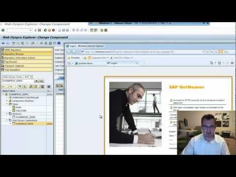 Build a Simple WebDynpro ABAP App: SAP Tutorial (Part 2)