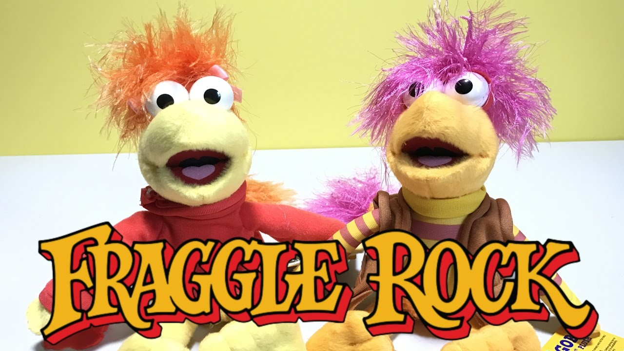 Fraggle Rock Plush Toys by Super Impulse and The Jim Henson Company ...
