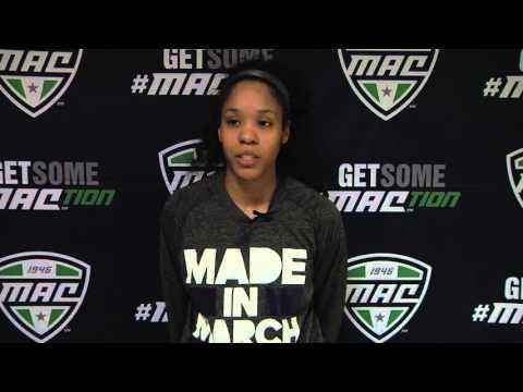 2016 MAC Basketball Tournament Quarterfinal: Anita Brown, Senior, Akron