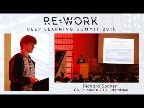 Richard Socher, Founder & CEO, MetaMind – RE•WORK Deep Learning Summit 2016 #reworkDL