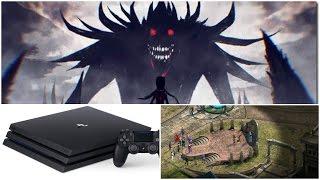 Вампирский экшен Code Vein, PlayStation 4 страдает от тараканов | Игровые новости