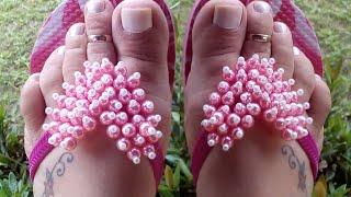 Como fazer coração de Pérolas simples e lindo por Maguida Silva