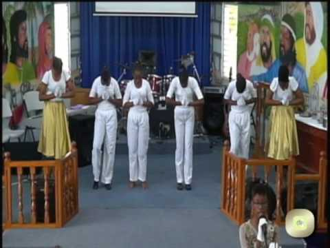 S G B C.Grenada Dance Group.....Song: his name is loyal