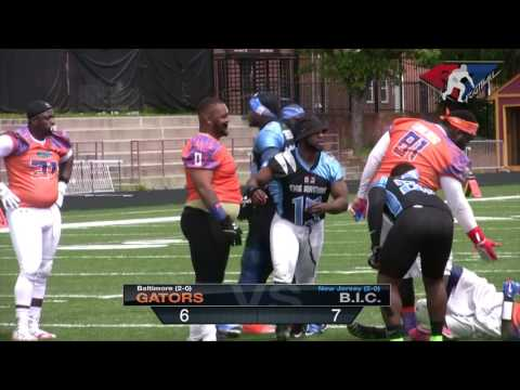 New Jersey BIC vs Baltimore Gators - A7FL 2017 Game of The Week