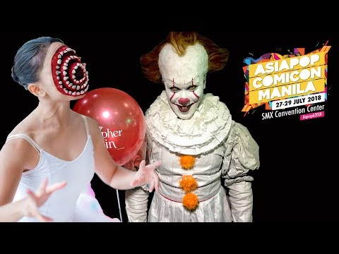 """PENNYWISE and SUGARPLUM FAIRY traumatizes children at """"Asia Pop Comic Con"""""""