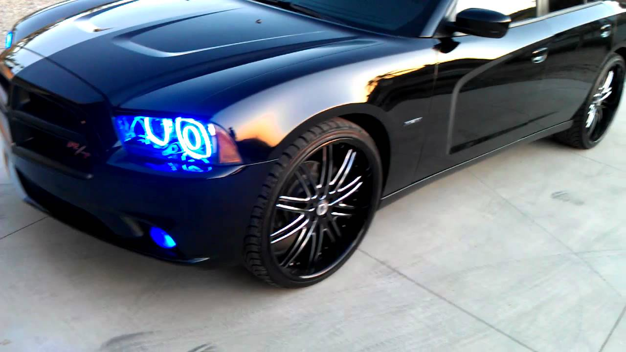 2011 Dodge Charger Rt Halo Kit Youtube