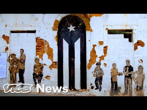 Puerto Rico's Protest Art Calls for the Island's Independence