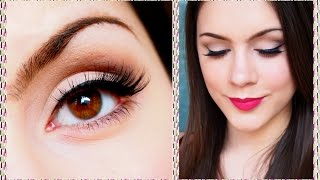 """⭐️ Spring 2015 Trends: Bold Lips! MAC """"All Fired Up"""" Makeup Tutorial ⭐️"""
