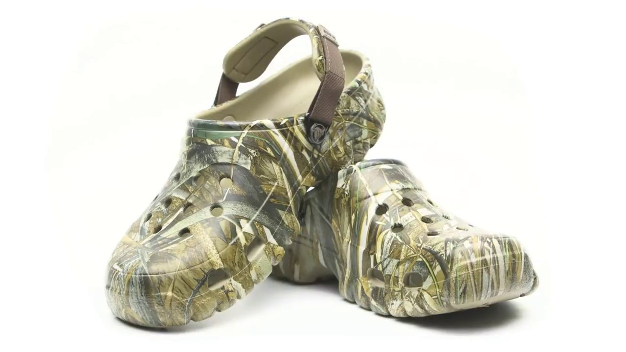 7e49df4d5282 Crocs Offroad Sport Realtree Max5 Clog (Dunham s Sports) - YouTube