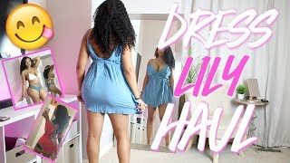 DRESS LILY TRY ON HAUL AND REVIEW