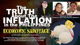 The TRUTH about the INFLATION in the PHILIPPINES  - Mr  Riyoh with DILG USEC EPIMACO DENSING III