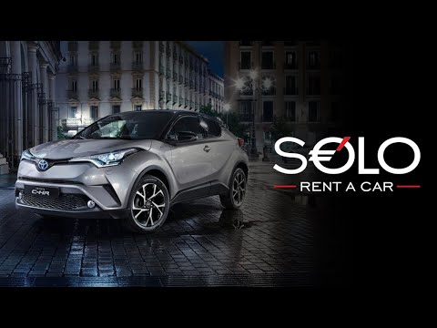 Rent TOYOTA C-HR with SOLO Rent a Car in Barcelona, Marbella o Madrid