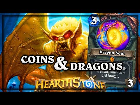 Dragon Soul and Coins 🍀🎲 ~ Kobolds & Catacombs ~ Hearthstone