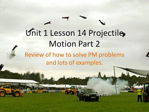 how-to-solve-projectile-motion-problems