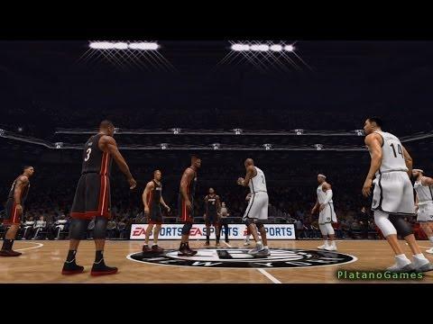 NBA Playoffs - Miami Heat vs Brooklyn Nets - Game 4 - 1st Half - Live 14 - HD