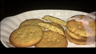 Zeera Biscuits easy and quick Recipe by RJ Kitchen