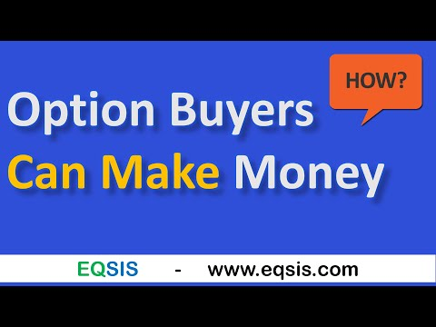 💰 Option Buyers Can Make Money: How?